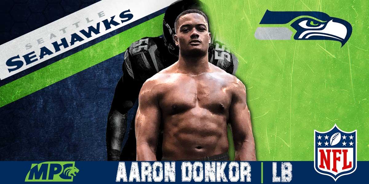 Aaron Donkor goes NFL - SEAHAWKS